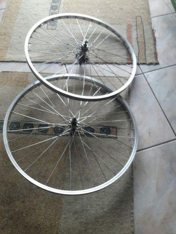 rodagem de bicicleta