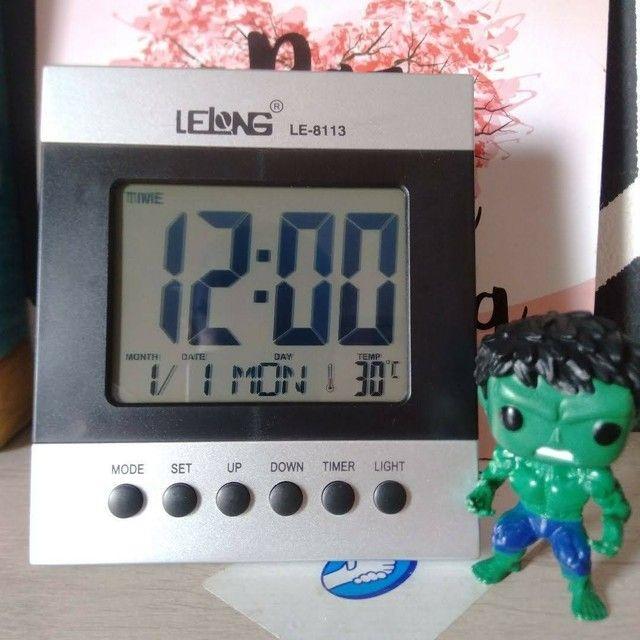 Relógio Digital de Mesa - Foto 4