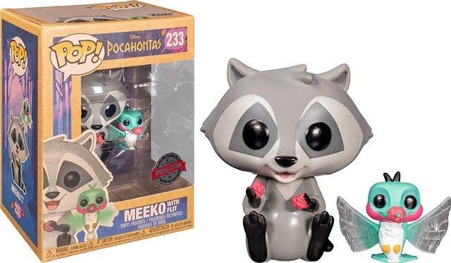 Funko POP! Disney: Pocahontas #233 - Meeko with Flit Earth Day - Foto 3