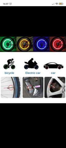 LED luminoso para bicicleta carro e moto - Foto 4