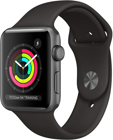 Apple Watch Series 3 42mm Preto - Novo e Lacrado - Foto 3