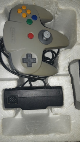 Nintendo 64 completo +  Zelda Ocarina of Time + Internation superstar soccer 64 - Foto 4