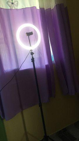 Ring Light 26cm com tripé apenas 120,00 (frete grátis) - Foto 2