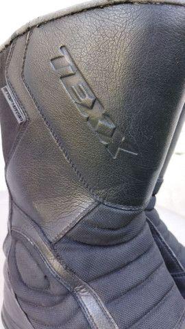 Bota de chuva Texx impermeável de motoqueiro. Ler anúncio - Foto 3