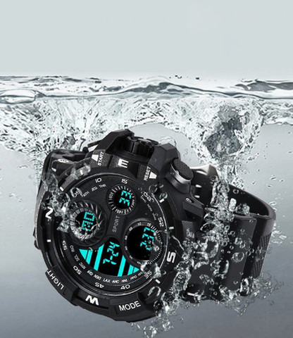 Relógio de Pulso Eletrônico Esportivo Prova D'água