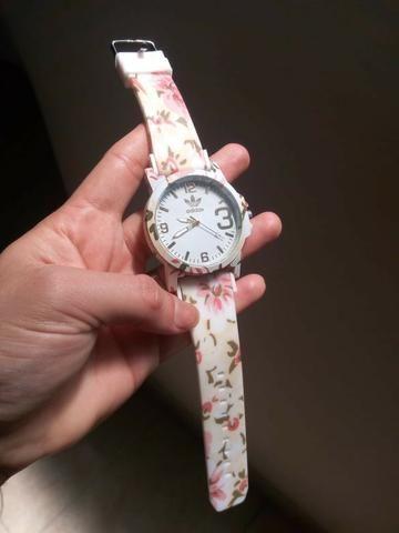 791fc9dea86 Relógios Femininos Adidas Florais Top de Linha - Bijouterias ...