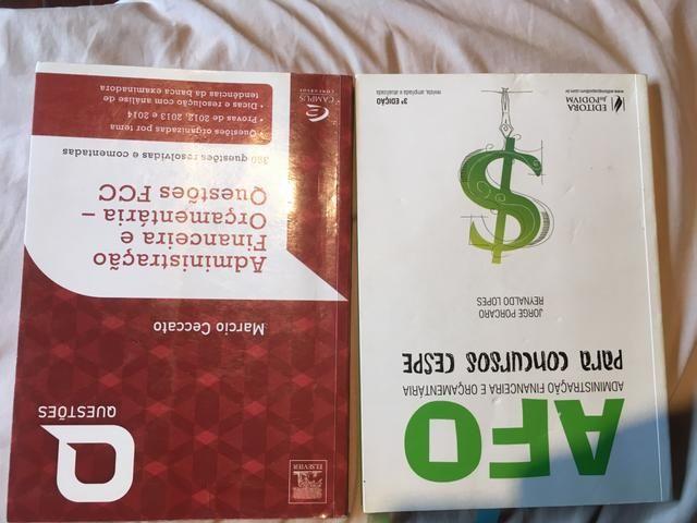 Livros Direito Financeiro AFO