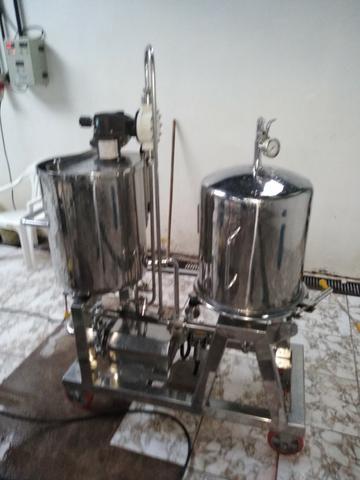 Filtro Egisa para cervejaria fábrica de cerveja - Foto 4