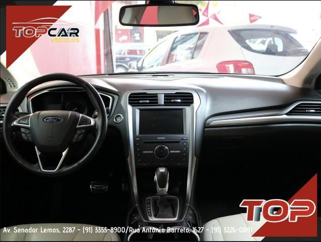 Ford Fusion Titanium Hybrid 2.0 15/16 é na Top Car! - Foto 8