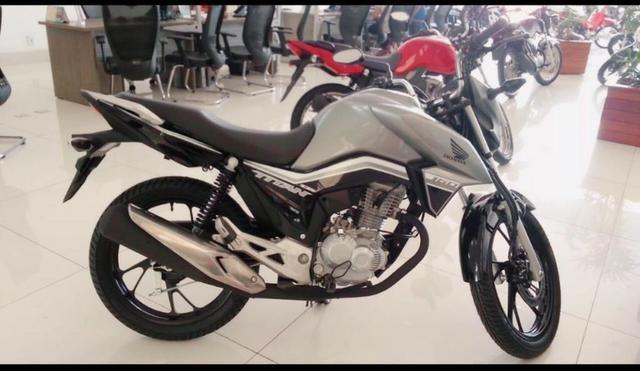 Titan 160 Honda isa