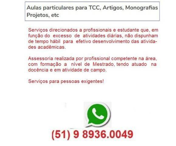 Aulas particulares para TCC, Artigos, Monografias, Projetos, etc - Foto 2
