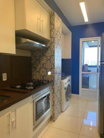 Apartamento com 2 dormitórios à venda, 69 m² por r$ 350.000 - jardim goiás - goiânia/go - Foto 16