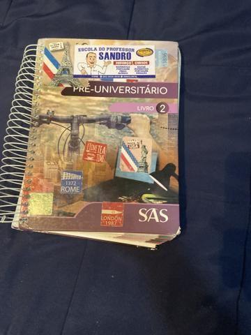 Livros didáticos do SAS , um dos melhores do Brasil - Foto 2