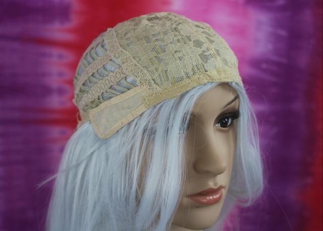 Peruca Wig Fibra Orgânica Branca - Foto 6