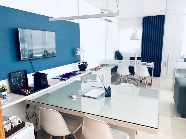 ESCRITÓRIO PRONTO !! Mobiliário já instalado em sala no Marcus Barbosa Office - Foto 2