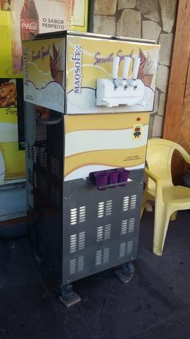 Máquina de sorvete italiano - Foto 4