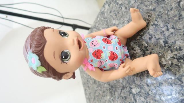 Boneca Baby Alive Super Snacks Lanchinho Divertido Ótimo Preço