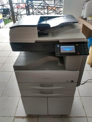 Copiadora e Impressora A3 Ricoh Aficio MP 2501sp Preto e Branco