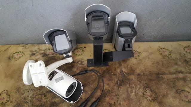 Kit Completo com 4 câmeras CFTV + 1 monitor - Foto 4