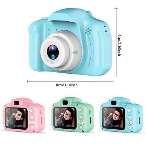 Câmera Digital Para Crianças LP005 Infantil Display 2 Pol HD Recarregável Prova de Choque - Foto 6