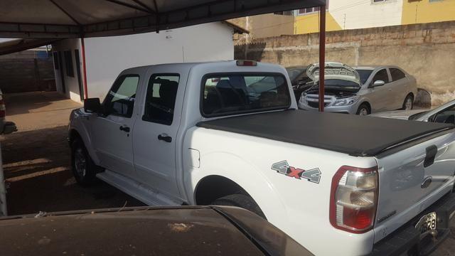 Ford Ranger 3.0 XLT 4x4 Diesel 2011/2012 Único Dono Branca - Foto 5