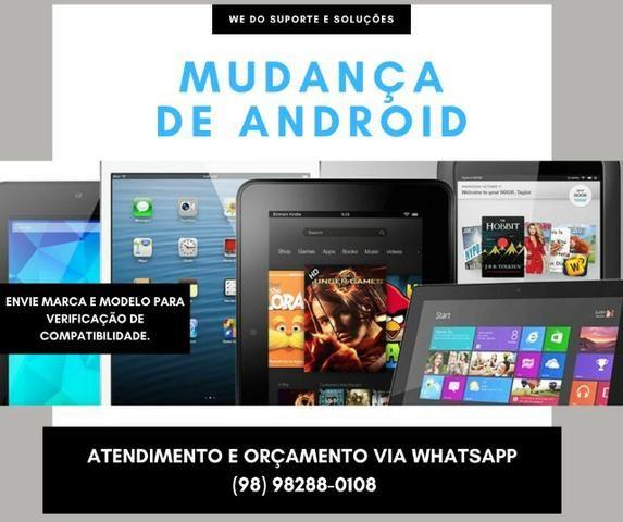 Troca de versões Android e sistemas [Smartphones/Tablets]
