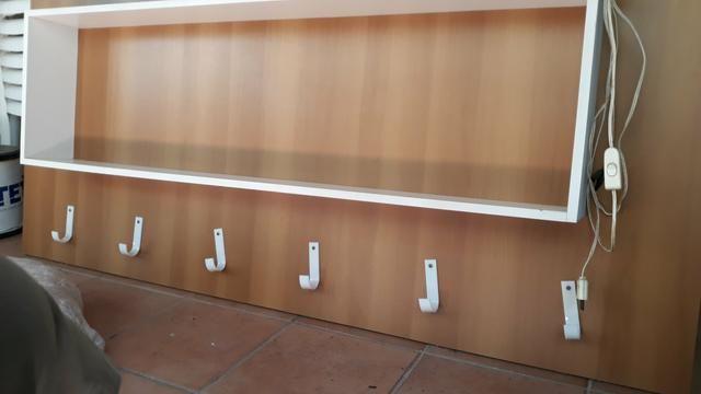 Painel / Estante de madeira - Foto 5