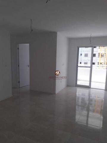 Apartamento NOVO com 3 dormitórios para alugar, 65 m² por R$ 1.150/mês - Messejana - Forta - Foto 16