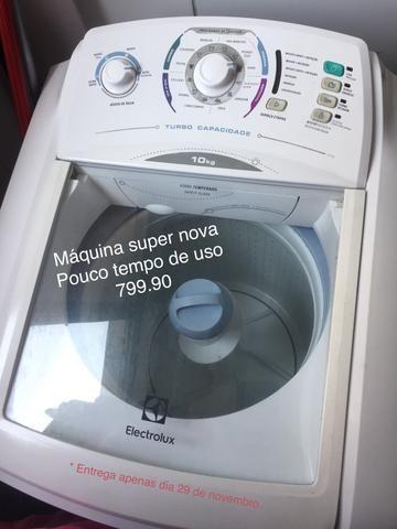 Maquina de lavar 10kg eletrolux - Foto 2