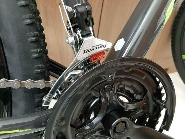 Bicicleta Caloi 29 Suspensão c/Trava Freio a Disco (Lacrada) Nota Fiscal - Foto 5