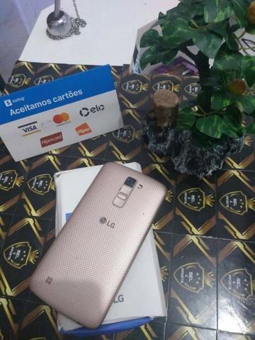 Celular Lg k10 dourado 16 gb - Foto 2