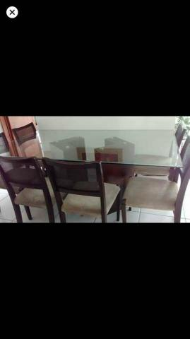 Mesa c/ 06 cadeiras