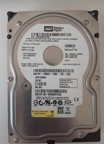 HD 80GB sata - Foto 2
