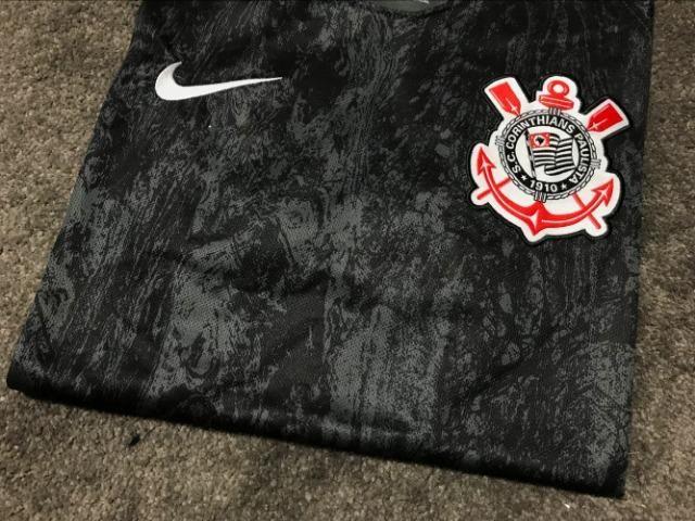 Camisa nike corinthians II 2018 19 torcedor masculina tamanho GG única  disponível 9f5ce4da5474f