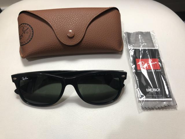 Óculos Ray Ban NEW WAYFARER RB2132 - Bijouterias, relógios e ... b5064b07f9