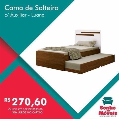 ebafca3923 Cama Bibox Solteiro Juvenil Luana Branco Preto - Conquista Envie seu pedido  989884190