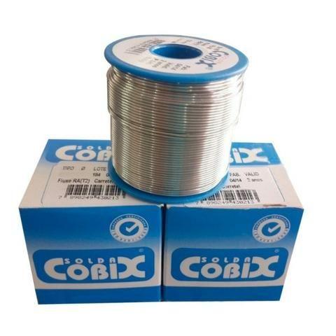 Solda Cobix Carretel 500g 1mm 60x40 Original