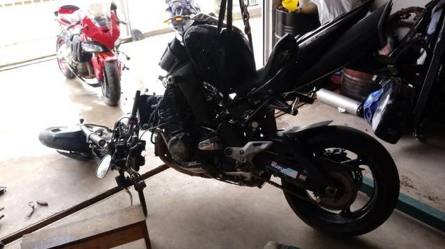 Moto Para Retirada De Peças / Sucata Suzuki B-king Ano 2011 - Foto 4