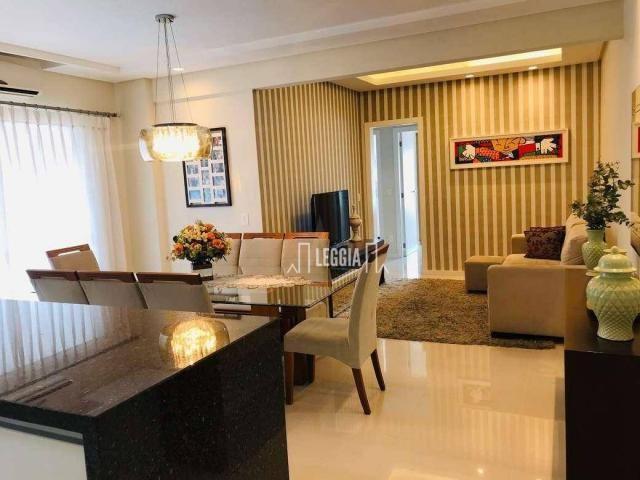 Apartamento com 3 dormitórios à venda, 98 m² por R$ 580.000,00 - América - Joinville/SC