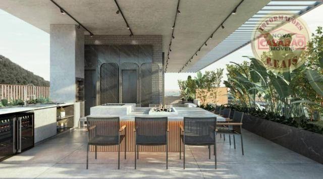 Apartamento com 1 dormitório à venda, 45 m² por R$ 207.000,00 - Canto do Forte - Praia Gra - Foto 7