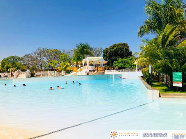 Venha para Caldas Novas Hotel com Parque Aquatico Flats Completo Hospedagem Temporada - Foto 2