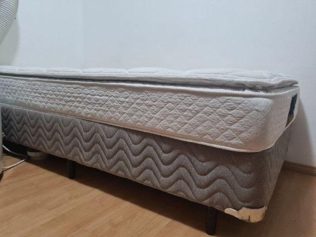 Cama Box com Colchão King Koil Viúva - 110cm X 198cm x 17cm - Foto 3