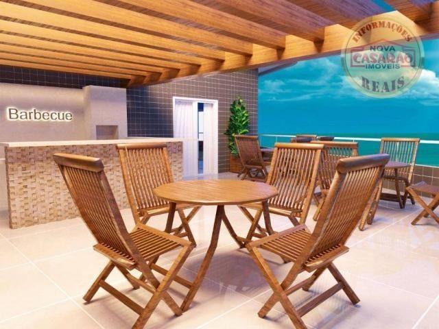 Apartamento com 1 dormitório à venda, 46 m² por R$ 232.000 - Vila Caiçara - Praia Grande - Foto 4