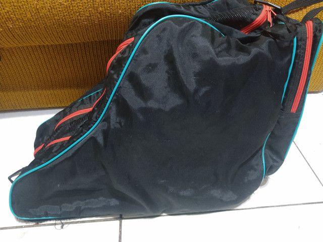 Patins Rollerblade e bolsa (leia) - Foto 4
