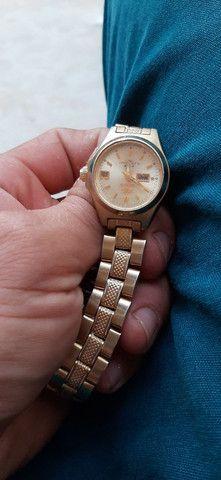Relógio feminino oriente usado  - Foto 2