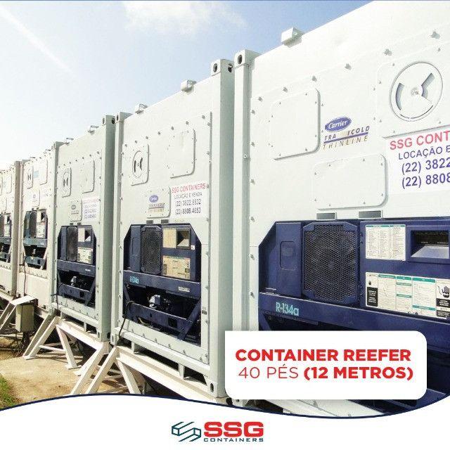 Locação Mensal Container Frigorífico 40, 20 e 10 pés tipo Câmara Fria usado aço inox