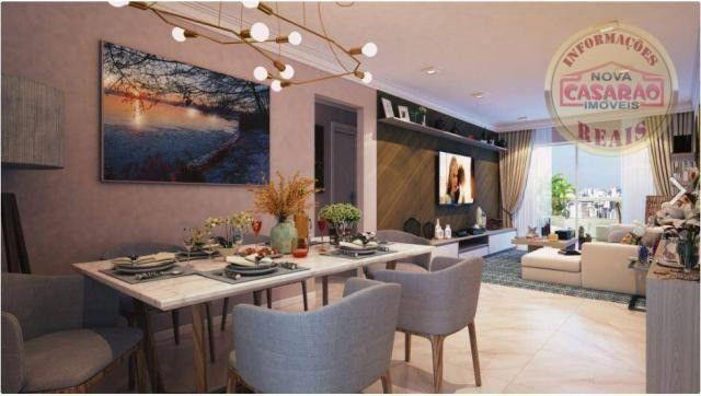Apartamento com 2 dormitórios à venda, 77 m² por R$ 419.958 - Maracanã - Praia Grande - Foto 14