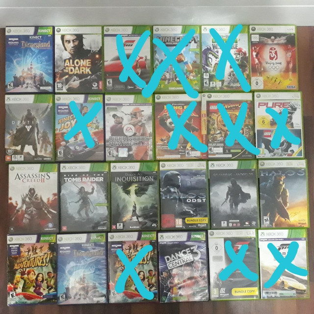 Jogos xbox 360 a partir R$30,00 - leia a descrição