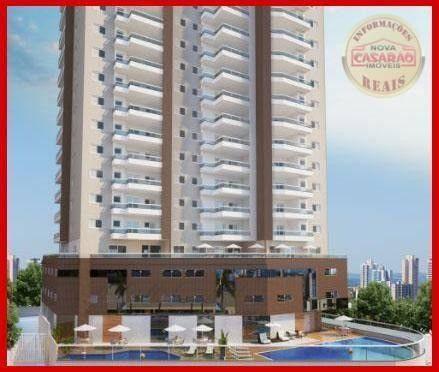 Apartamento com 2 dormitórios à venda, 77 m² por R$ 419.958 - Maracanã - Praia Grande - Foto 4
