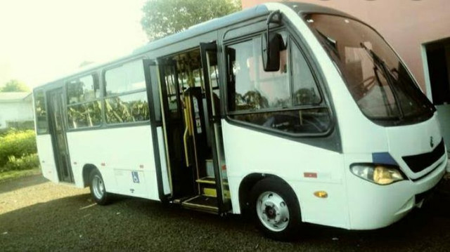 Micro ônibus ano 2010/10, VW 9-150(MWM) - Foto 2